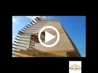 Embedded thumbnail for Дом из профилированного бруса (6х9)